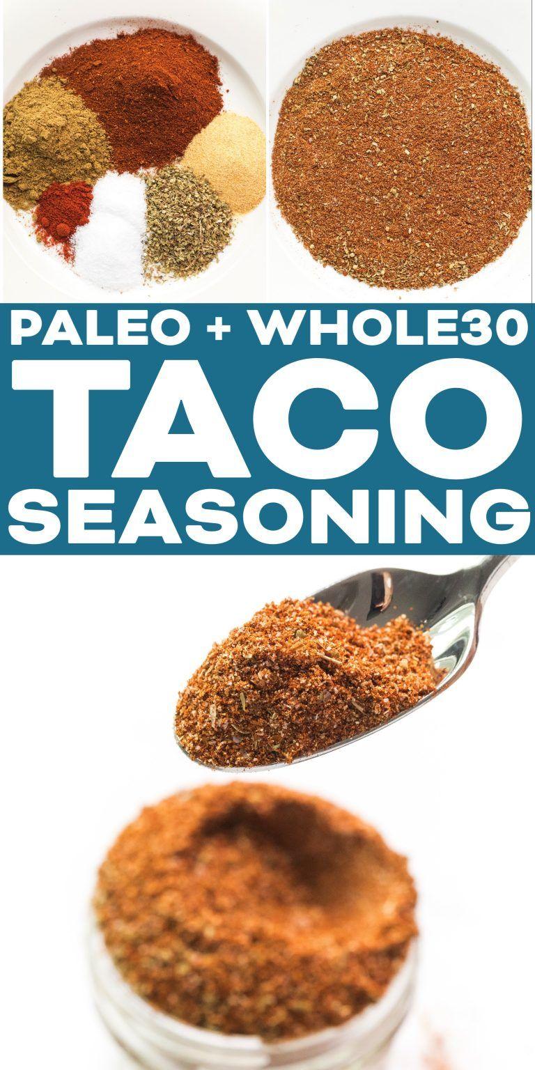 Paleo + Whole30 Taco Seasoning #maketacoseasoning