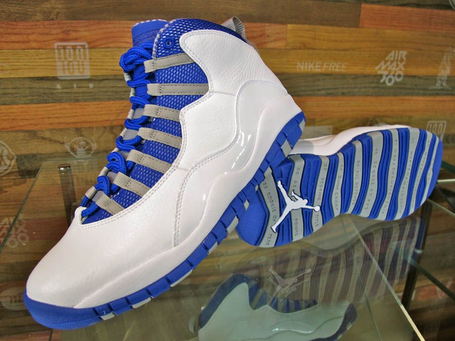 92a210c3c1f Air Jordan Retro 10 - White/Old Royal-Stealth gettin these ...