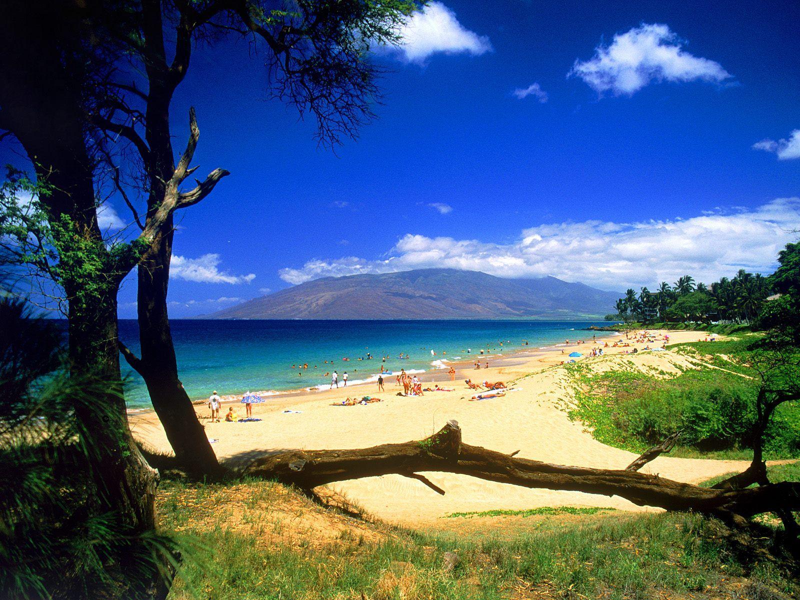 High Resolution Nature Desktop Wallpaper Of Kihei Beach Maui Hawaii ID