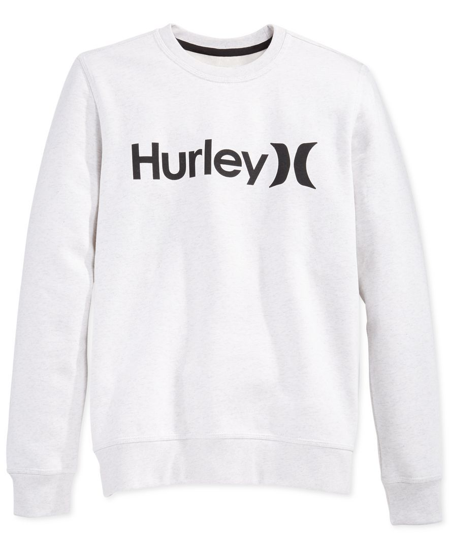 Hurley Surf Club Crew Neck Sweatshirt Sweaters Men Macy S Sweatshirts Hurley Clothing Print Clothes [ 1080 x 884 Pixel ]