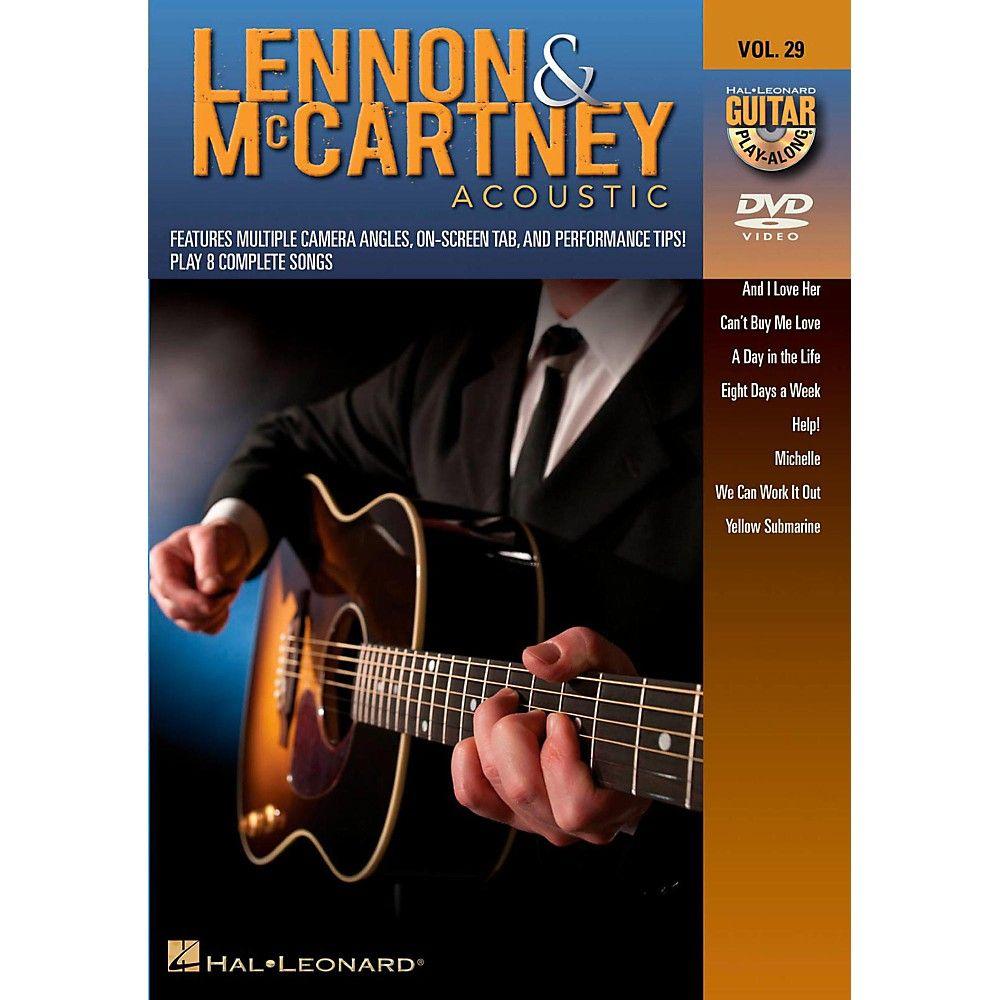 Hal Leonard Lennon & McCartney Acoustic - Guitar Play-Along DVD Volume