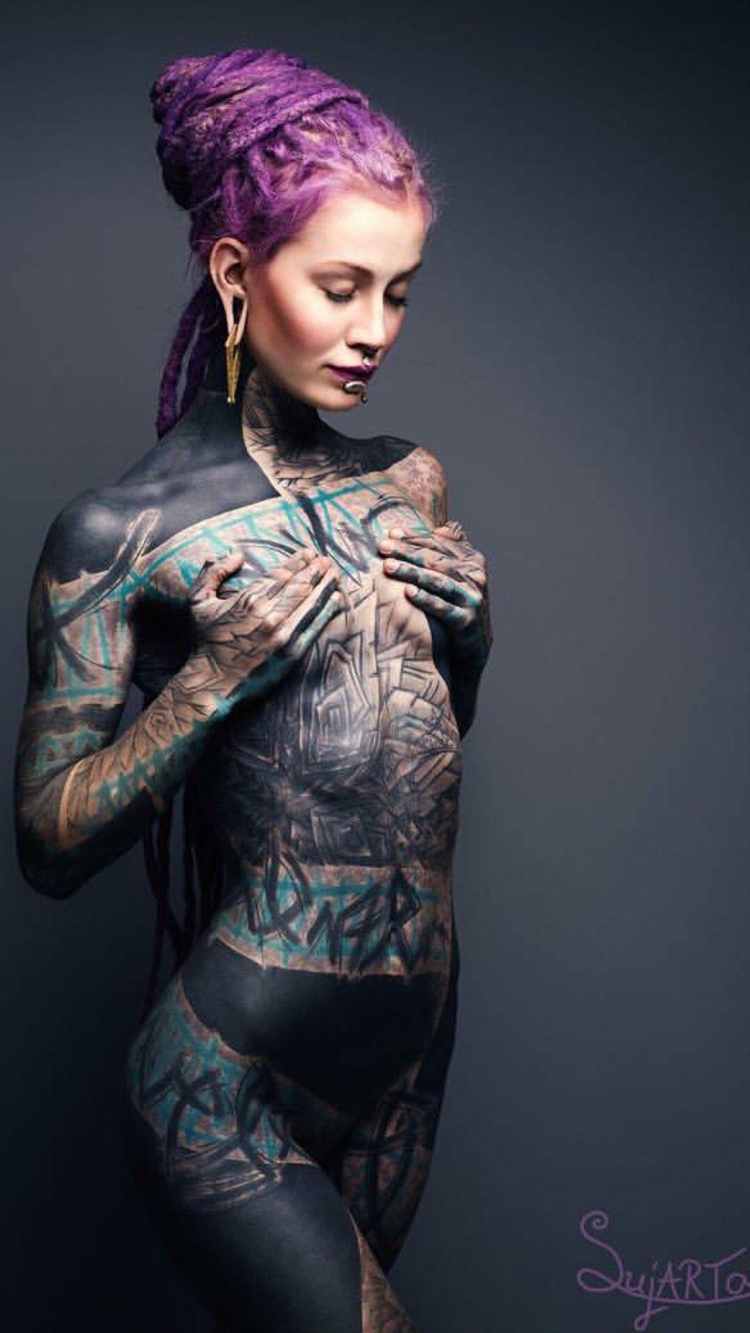 full body tattoos Tattoo photography, Girl tattoos