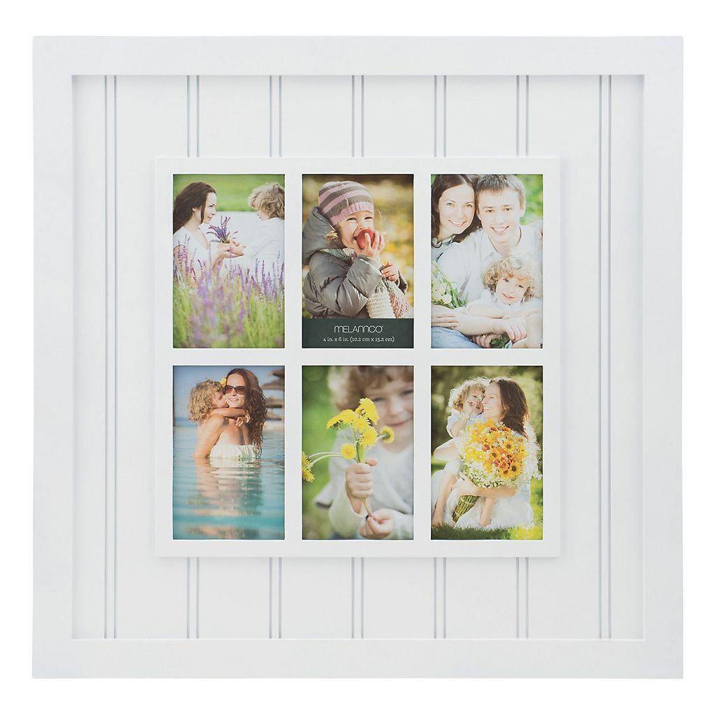 Melannco 6 Opening Windowpane Collage Frame Collage Frames