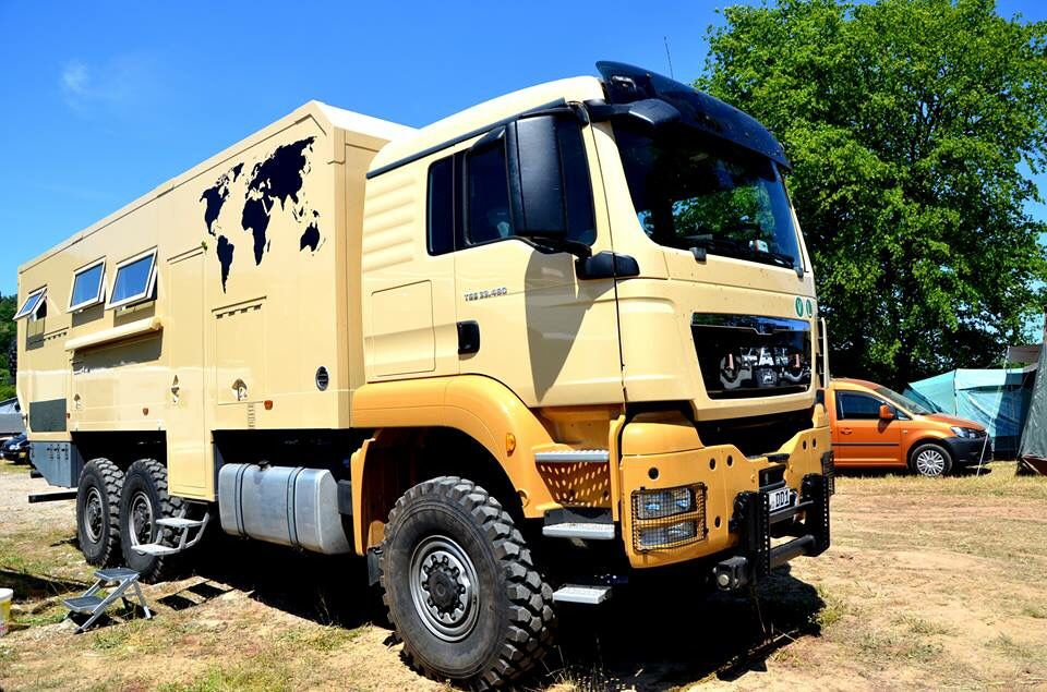 Man Camper In Bad Kissingen Germany Expedition Vehicle