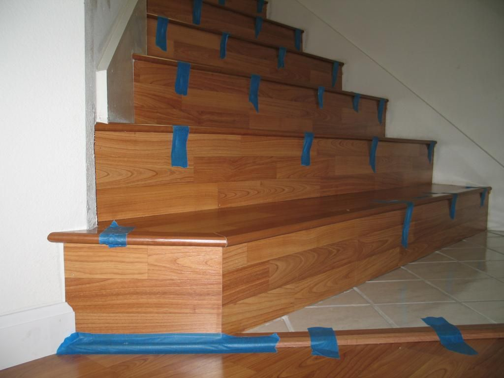 Superior Details Showing Laminate On Stairs