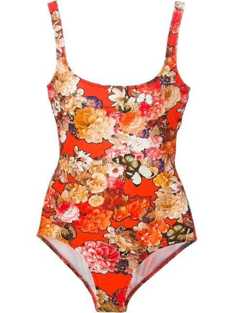 601907cca2c Givenchy Floral Print Swimsuit - Smets - Farfetch.com | Issa Fashion ...
