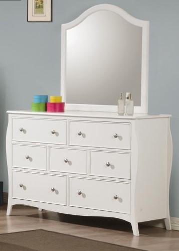 Coaster Fine Furniture Mirror White 400564 Products