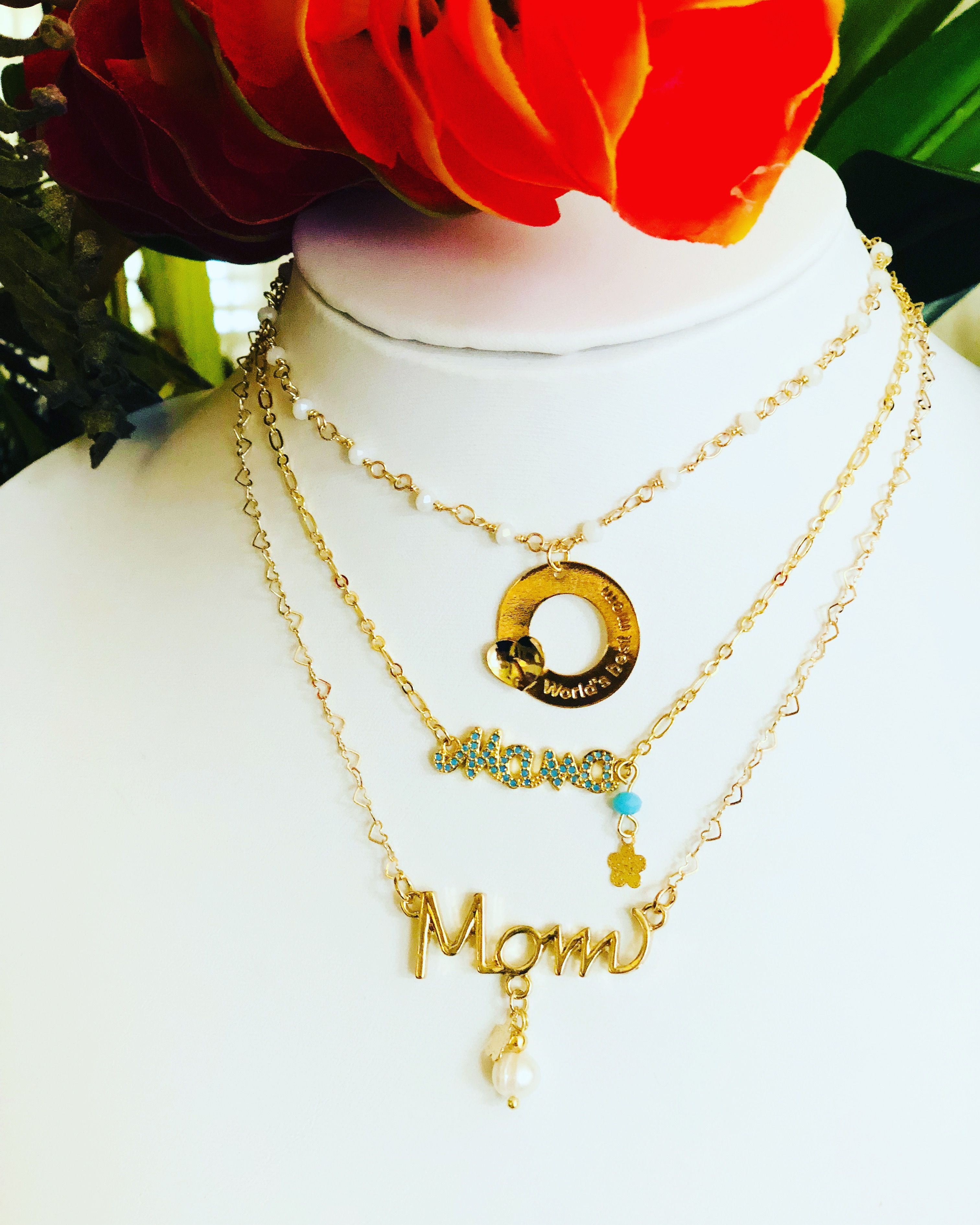 83f57d7d6b2 Chokers for mom, beautiful gift for Mother's Day. By LuisanaMelet- Jewelry  Facebook / Instagram meletluisana@gmail.com