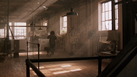 One Of The First Examples Of Industrial Chic In Cinema   Alex Owensu0027 Loft In
