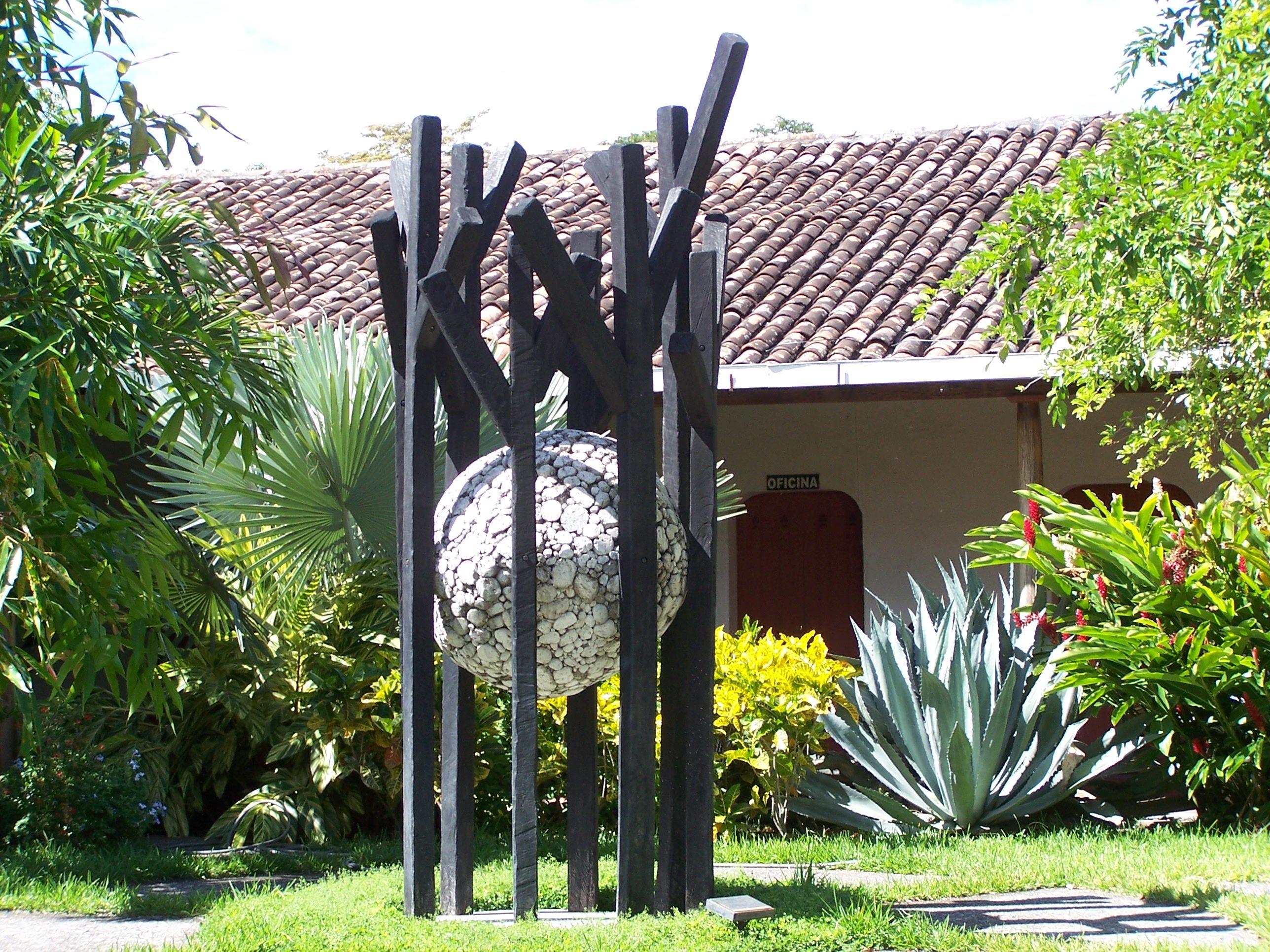Memory Lives Sculpture Art For Peace Center Suchittoto