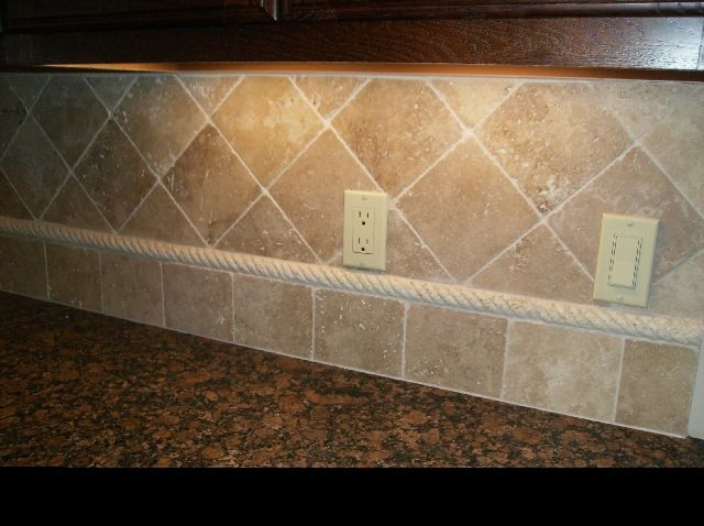 kitchen backsplash travertine tile pin by chmielecki on diy projects backsplash 19175