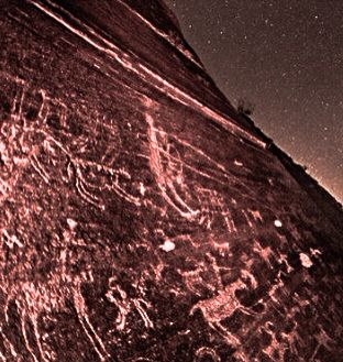 JOJO POST STAR GATES:17000 years old rock message art in the remote valley of Teimareh in central Iran. The valley is full of ancient petroglyphs, belong to 4500 to 17000 years ago. With over 30,000 engraved images, the valley is one of the world's most important petroglyph sites. photos: By: B-A. Tafreshi