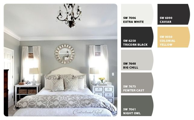 Sherwin Williams Chill Grey Interior Paint Colors For