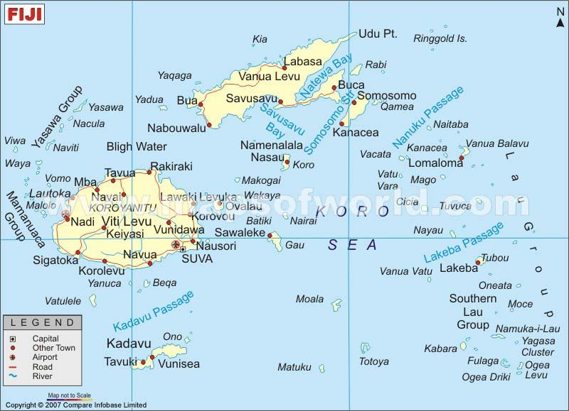 Cool map of fiji travelquaz pinterest fiji and destinations cool map of fiji gumiabroncs Image collections