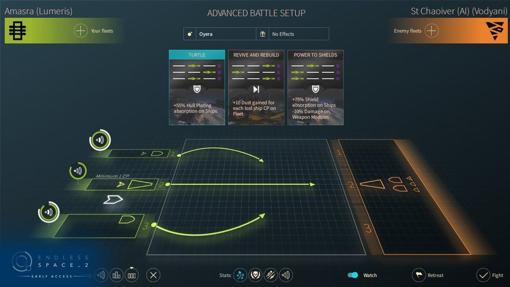 Endless Space 2 - Game UI design Interface design, Game ui and Ui