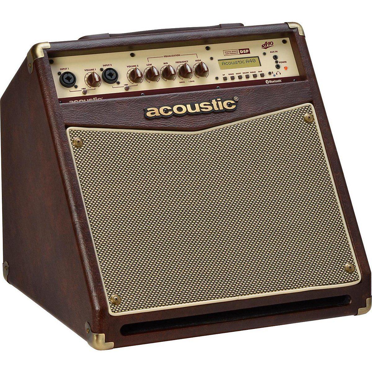 Amazon Com Acoustic A40 40w Acoustic Guitar Combo Amp Musical Instruments Guitar Acoustic Acoustic Guitar