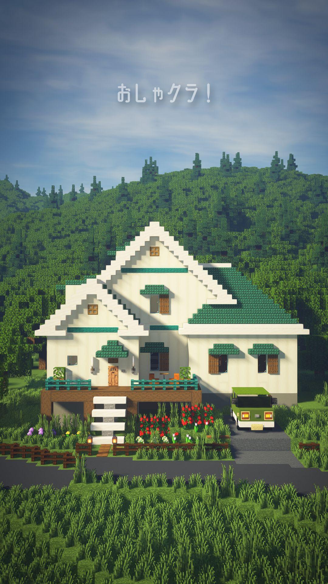 Spanish Villa Minecraft : spanish, villa, minecraft, Part96, Surprisingly, BLOCK, Fashionable, Minecraft, Houses,, House, Plans,, Houses