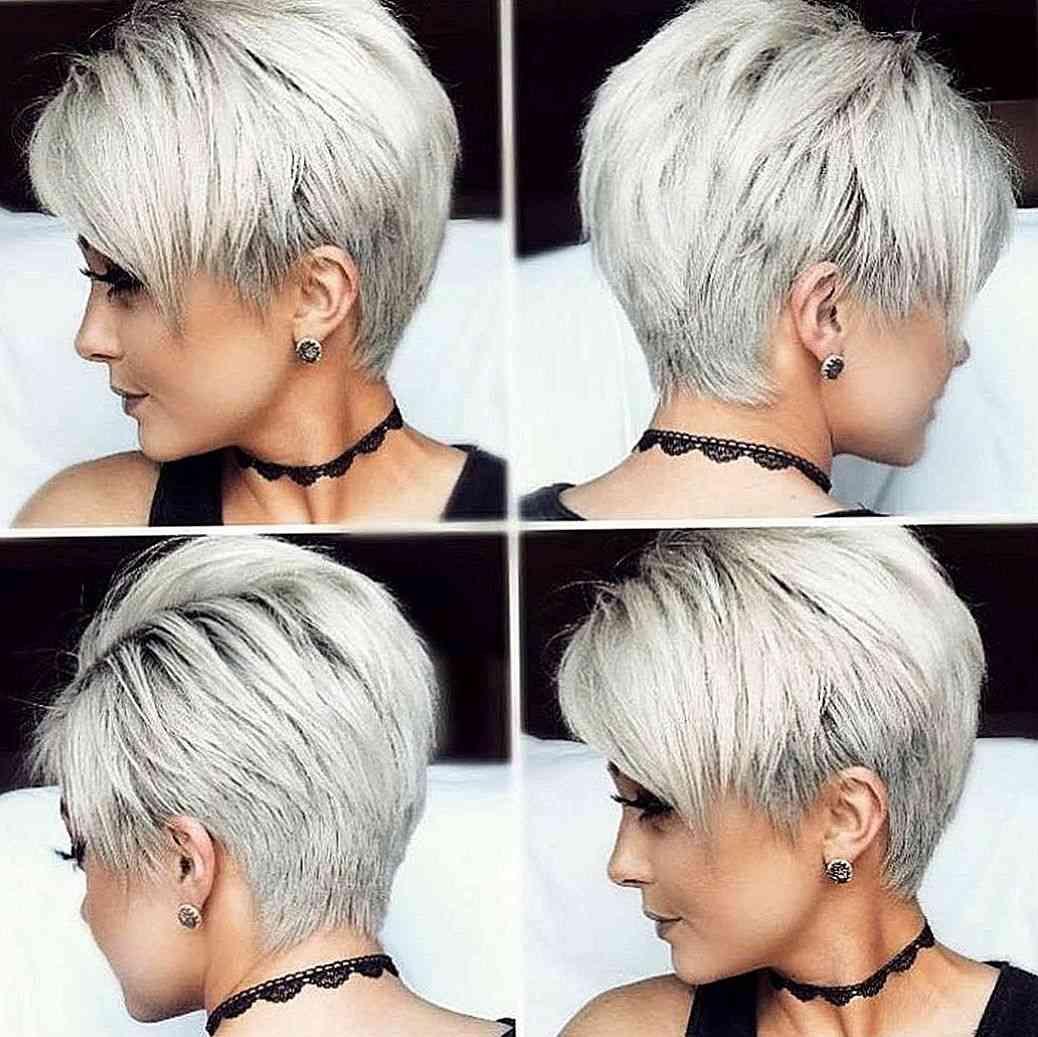 frisør kort hår
