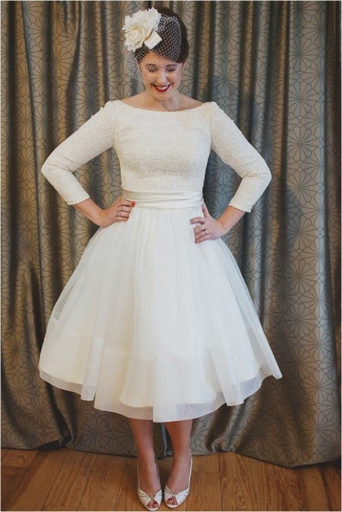 ▷ 1001+ ideas de vestidos de novia cortos y elegantes | wedding