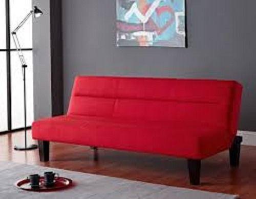 Kebo Futon Sofa Bed, Red Dorm Bed #Generic