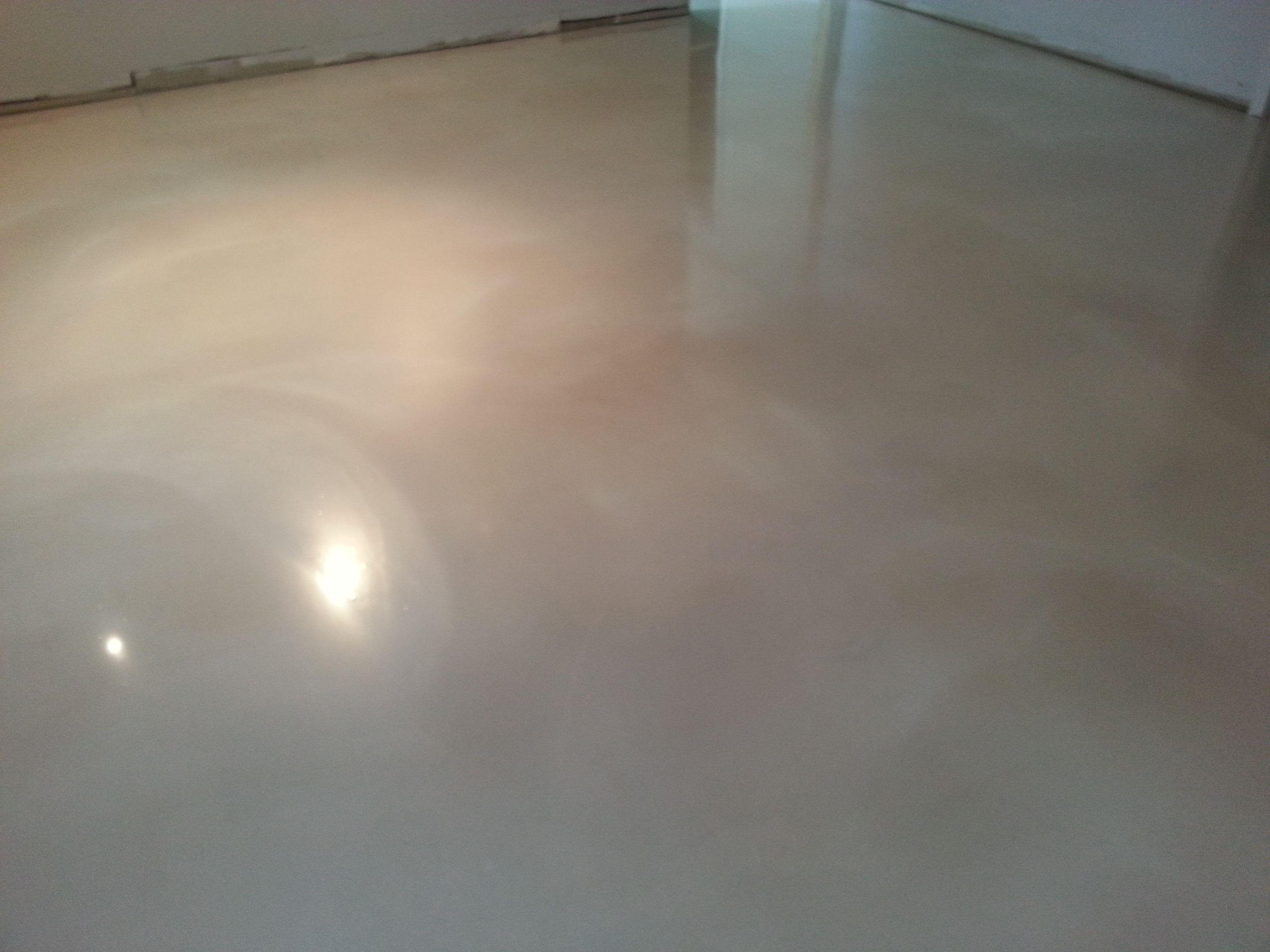 Opal White Metallic Flooring Myrtle Beach Sc Job Concrete Decor Metal Floor Metallic Epoxy Floor