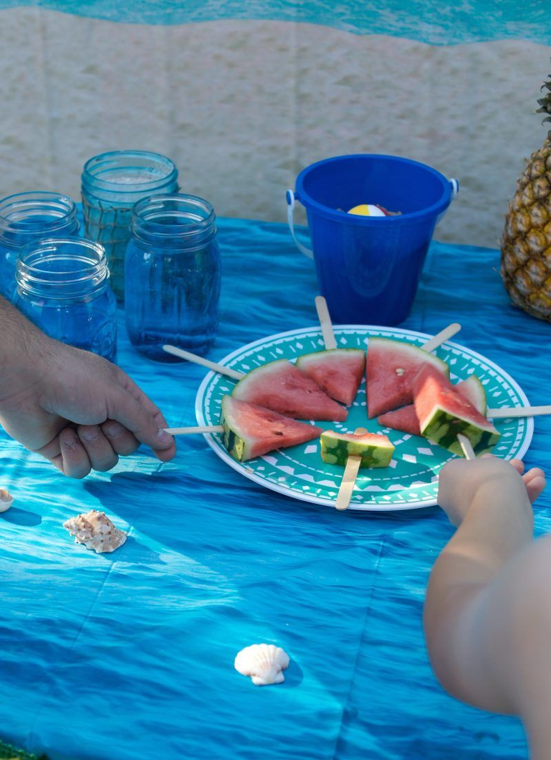 Backyard Beach Party Ideas With Images Backyard Birthday
