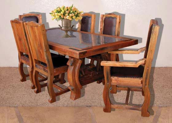 Dining Table - Rugged But Eloquent - SPT4100 Home Environment