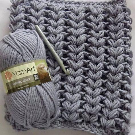 Soft Scarf - Free Pattern (Crochet For Children) | Puntos de aguja ...