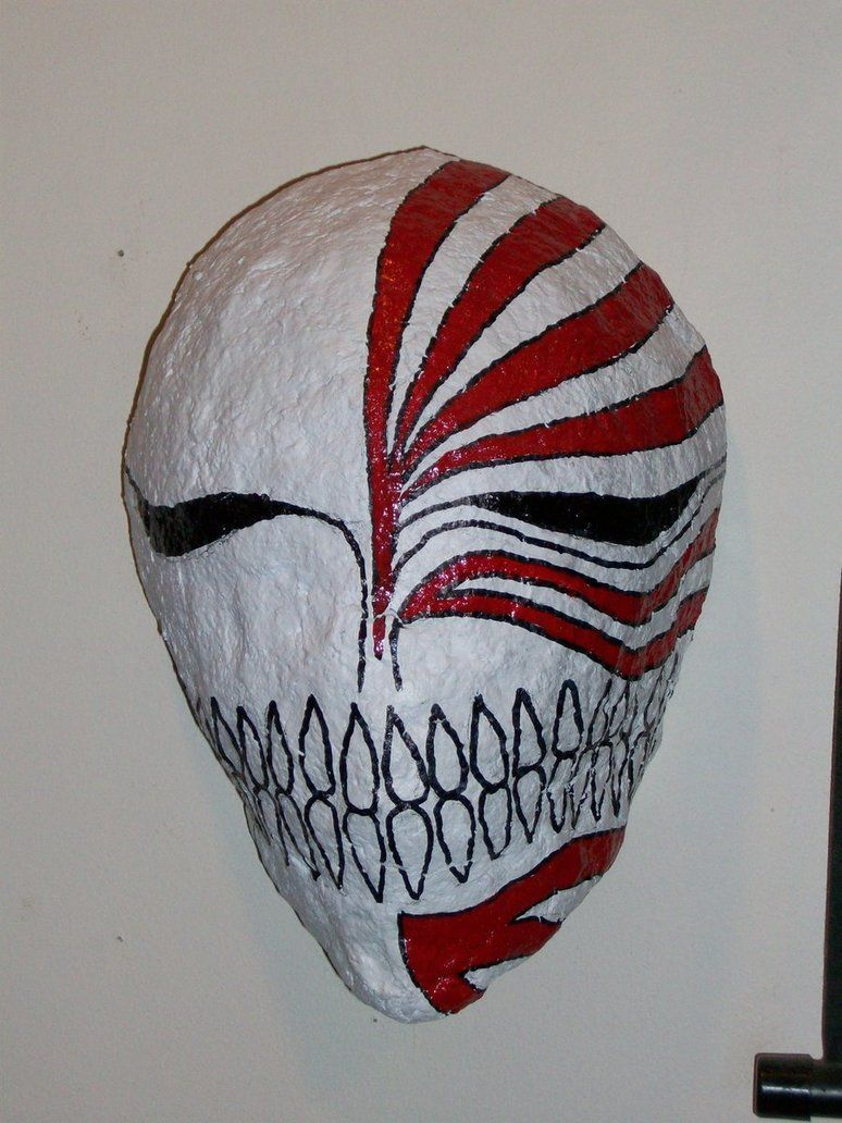 paper mache masks | paper mache hollow mask~zorcandpals on