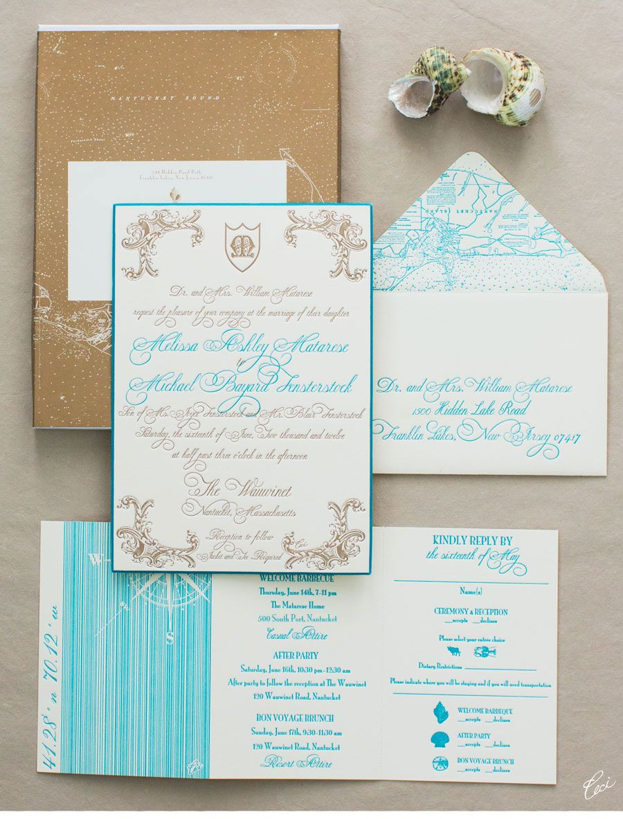 Luxury Wedding Invitations by Ceci New York - Our Muse - Glamorous ...