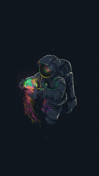 Astronaut Jellyfish Space Digital Art 4k Click Image For Hd Mobile And Desktop Wallpaper 3840x2160 Astronaut Wallpaper Trippy Wallpaper Wallpaper Space