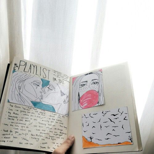 Image de drawing and journal