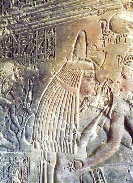 Maia,Pharaoh Tutankhamun's wet nurse.