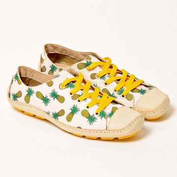Pineapple Moccasin, $117, now featured on Fab.