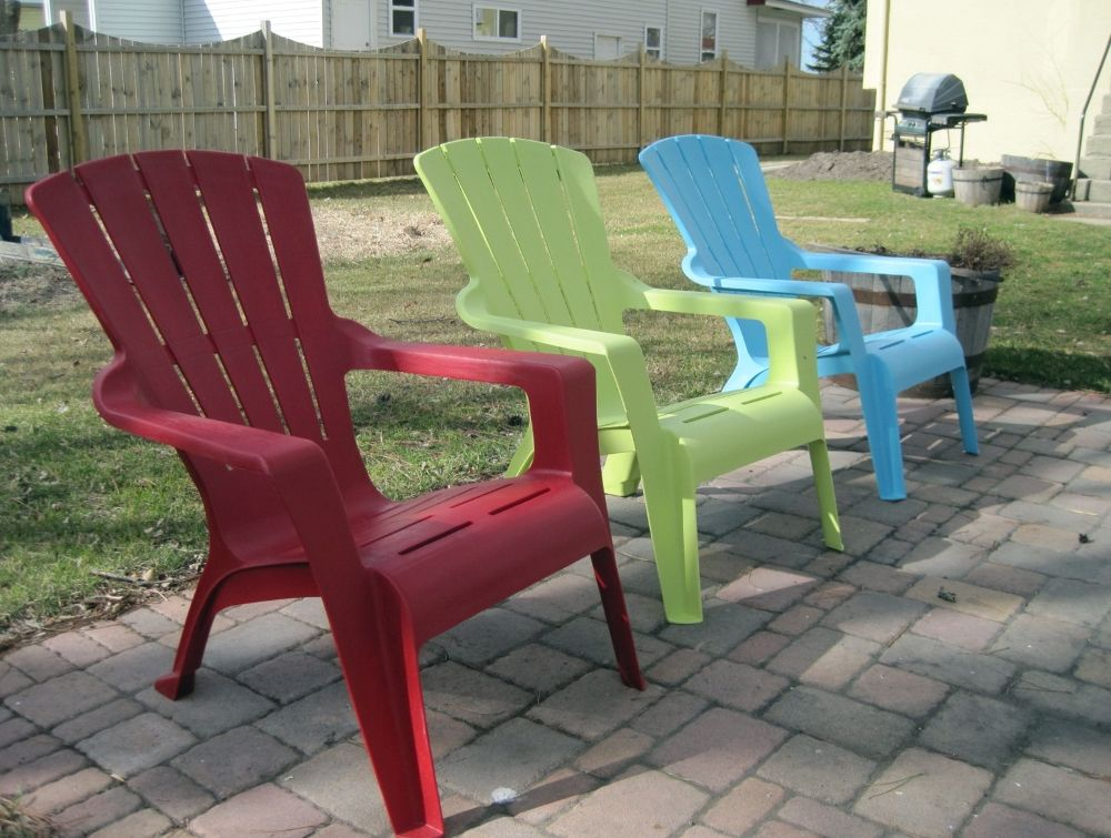 Resin Adirondack Chairs Home Depot Plastic Patio Furniture