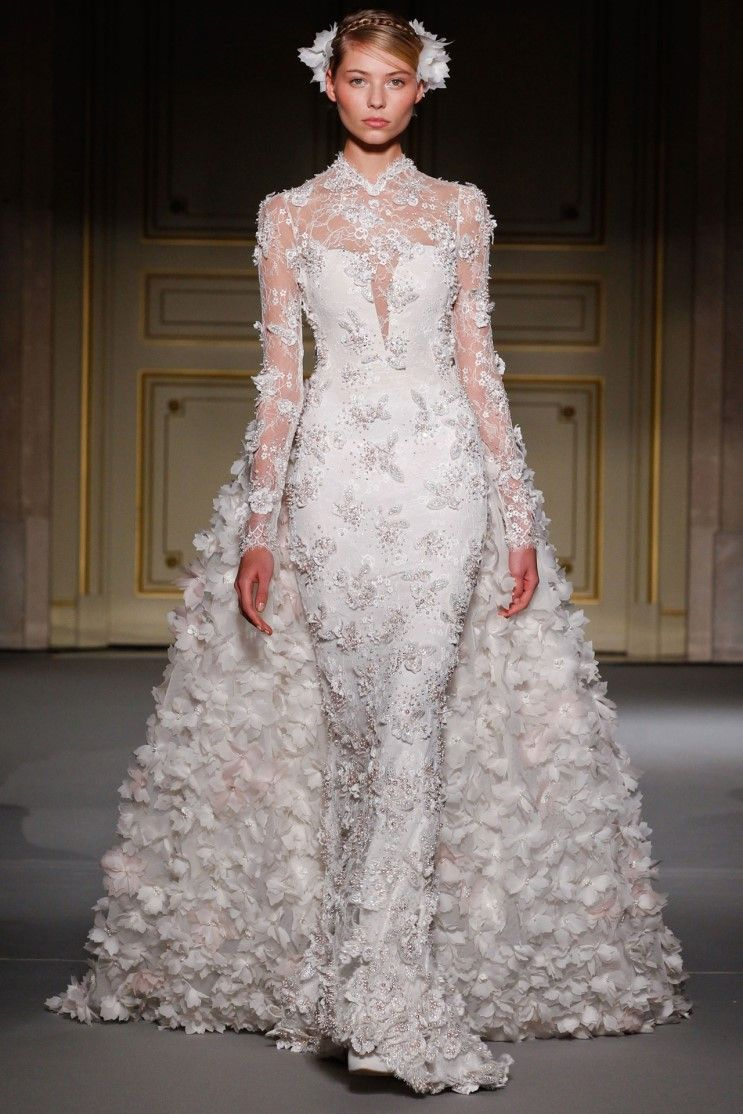 Georges Hobeika haute couture for Sansa Stark. The gown was ivory ...