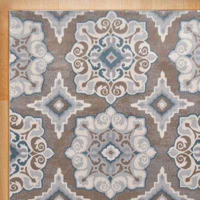 andover mills natural taupe and turquoise area ru outdoor rug