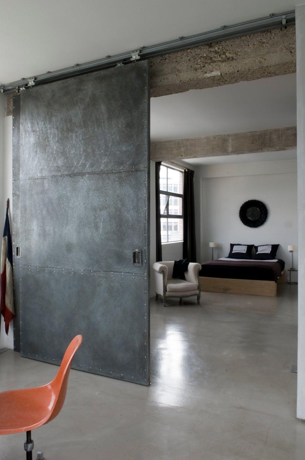 Stunning industrial london loft trends magazine industrial and stunning industrial london loft metal doorsthe vtopaller Gallery