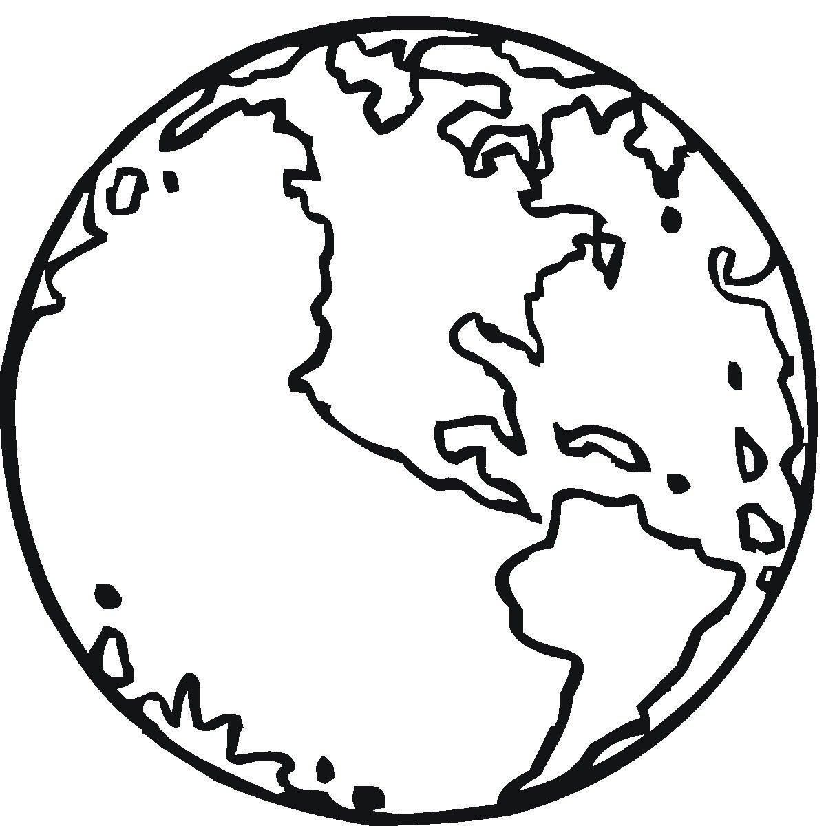 Free Printable Earth Coloring Pages For Kids | Earth ...