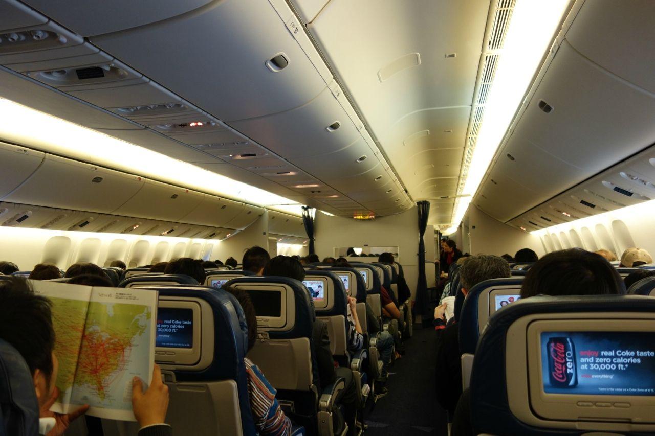 SeatGuru Seat Map Delta Boeing 777-200ER/LR (77L) ECONOMY