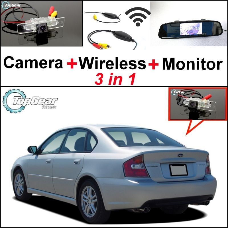 3 in1 special rear view camera wireless receiver mirror 3 in1 special rear view camera wireless receiver mirror monitor easy parking system for sciox Choice Image