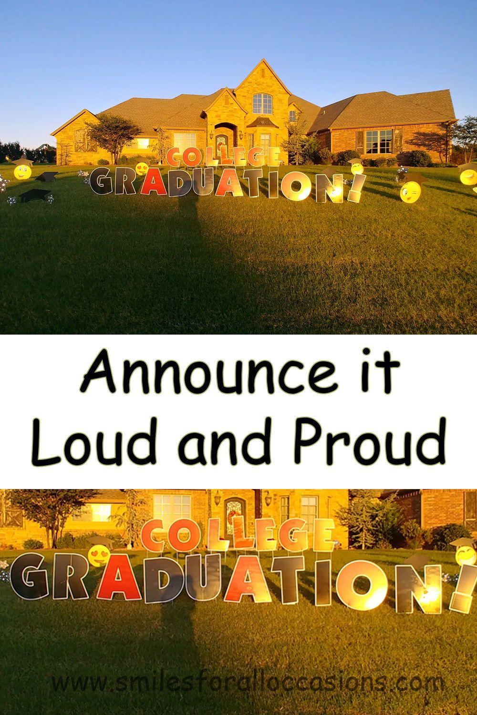 Graduation signs in 2020 graduation yard signs