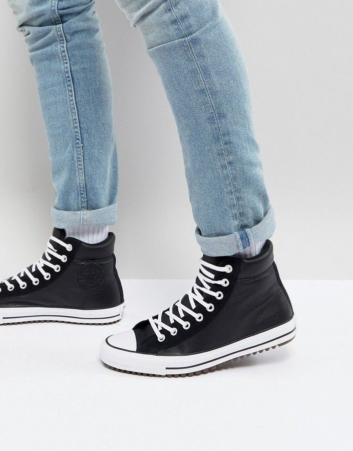 Converse Chuck Taylor All Star Street Sneaker Boots In Black ...
