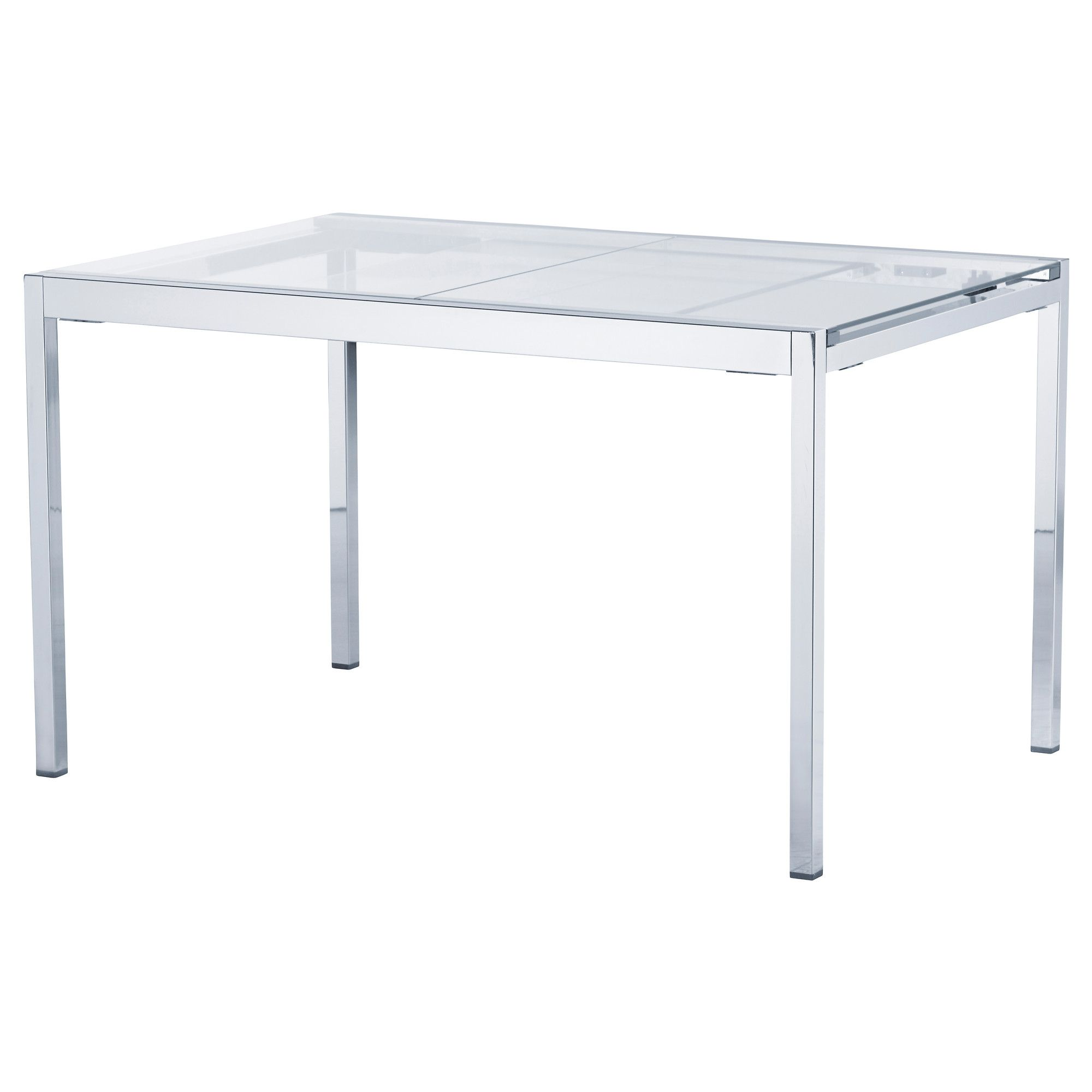 Table Ikea En Verre Glivarp Table Ikea Table Transparent Chromé 349 00 Numéro D