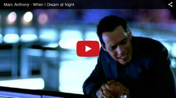 Watch: Marc Anthony - When I Dream at Night See lyrics here: http://marcanthonylyrics.blogspot.com/2010/09/when-i-dream-at-night-lyrics-marc.html #lyricsdome