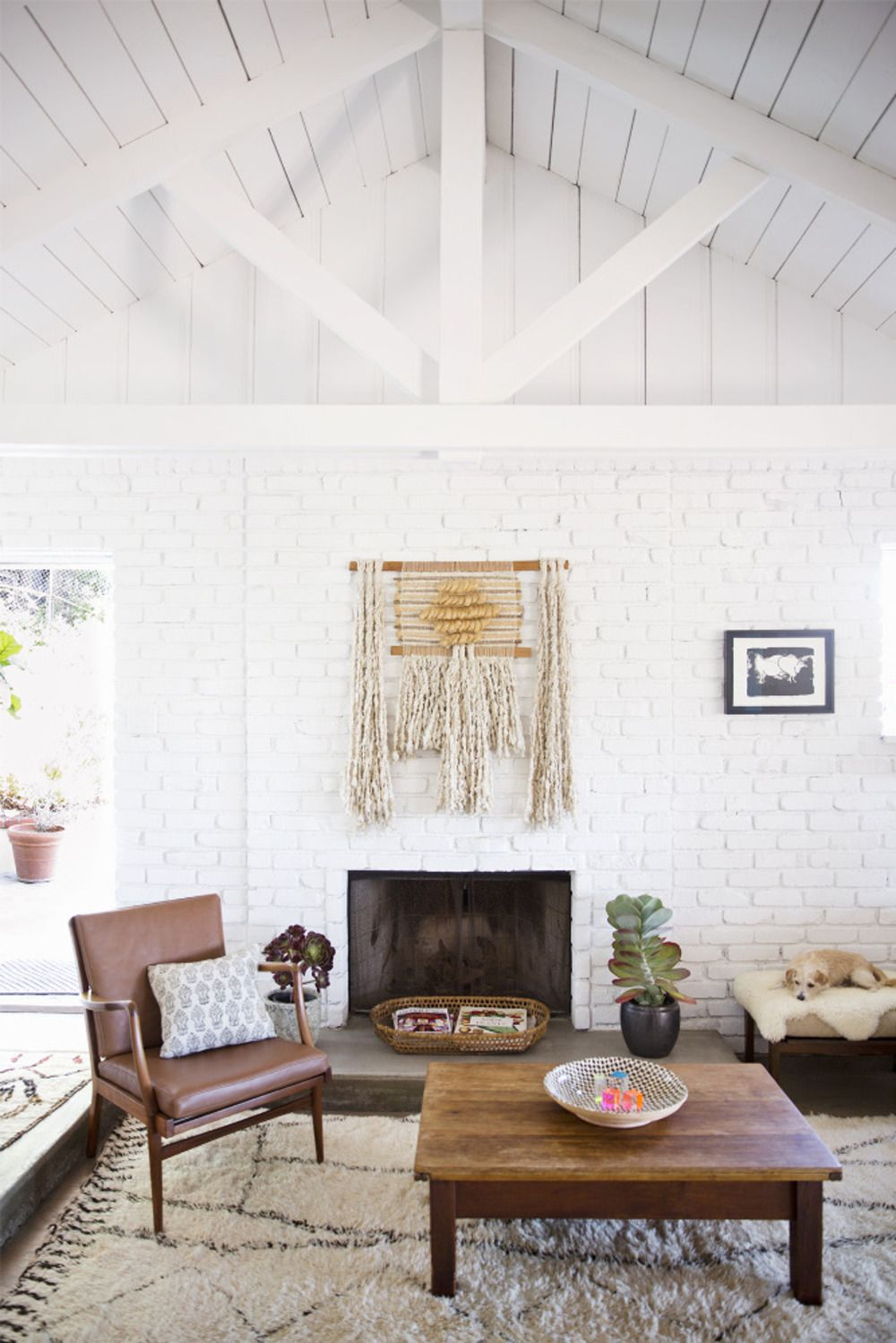 chay wike natural beauty | Brick fireplace, Mantle and Bricks