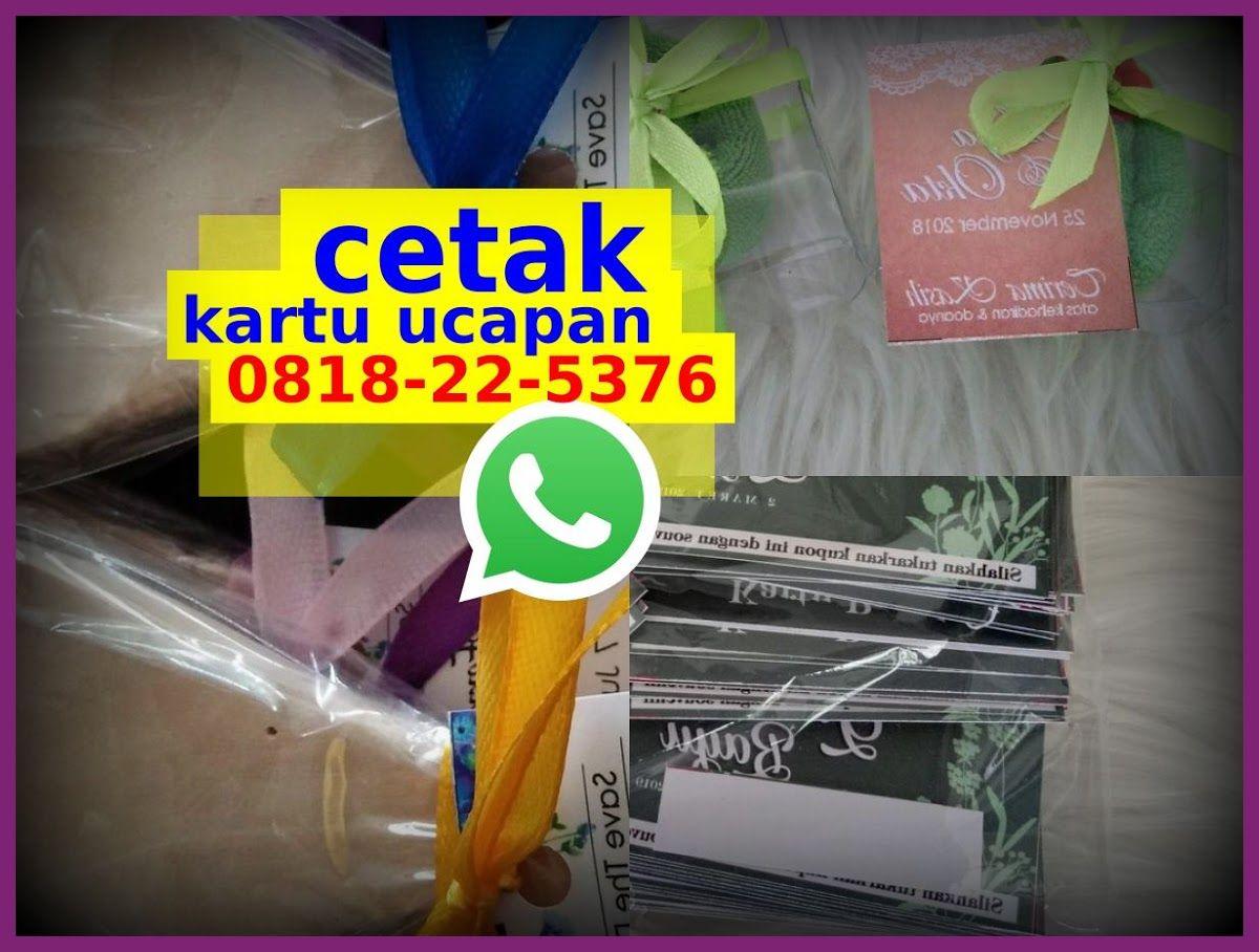Kartu Ucapan Terima Kasih Souvenir 0818.22.5376 (whatsApp ...