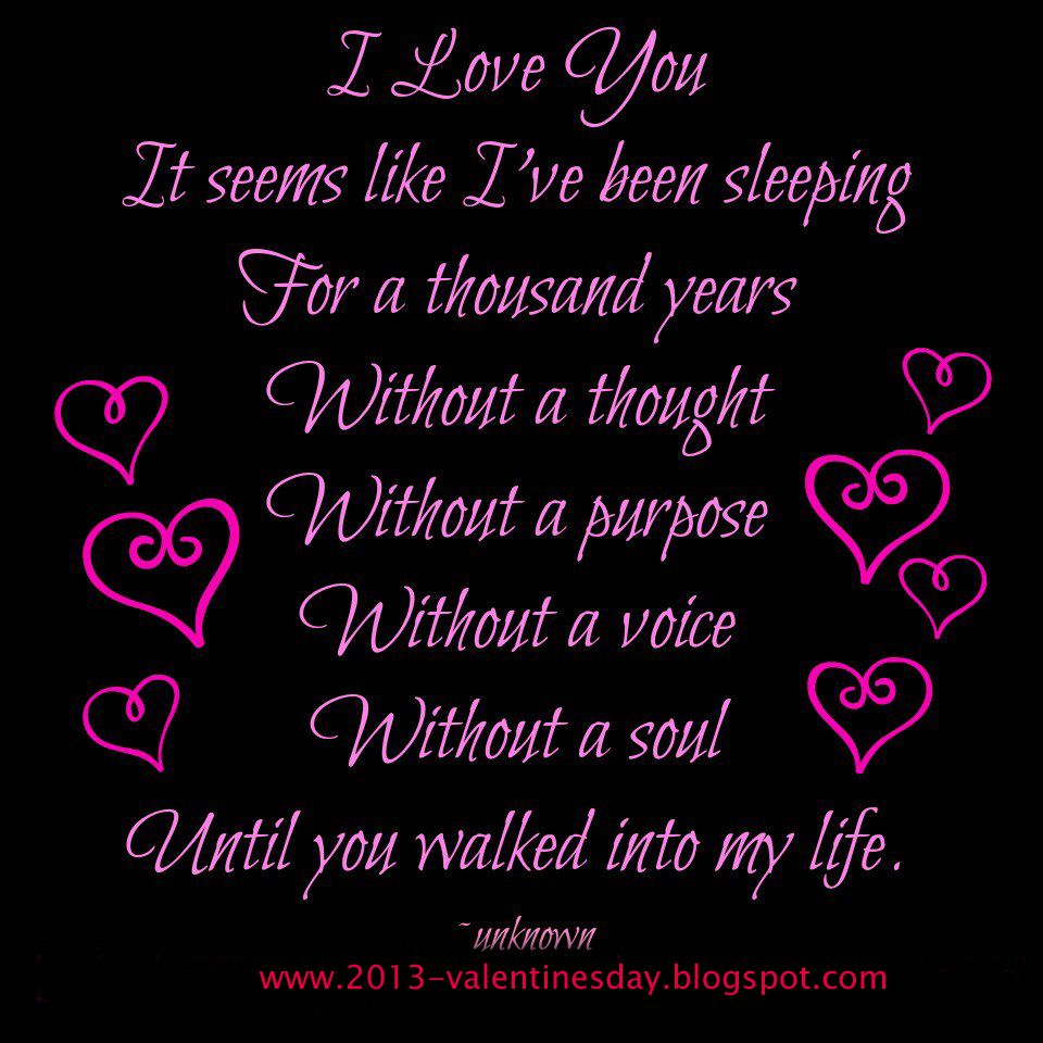 The Love I Have For You Quotes I Love You Quotes  Love You Quotes 2014 For Valentines Day Wish