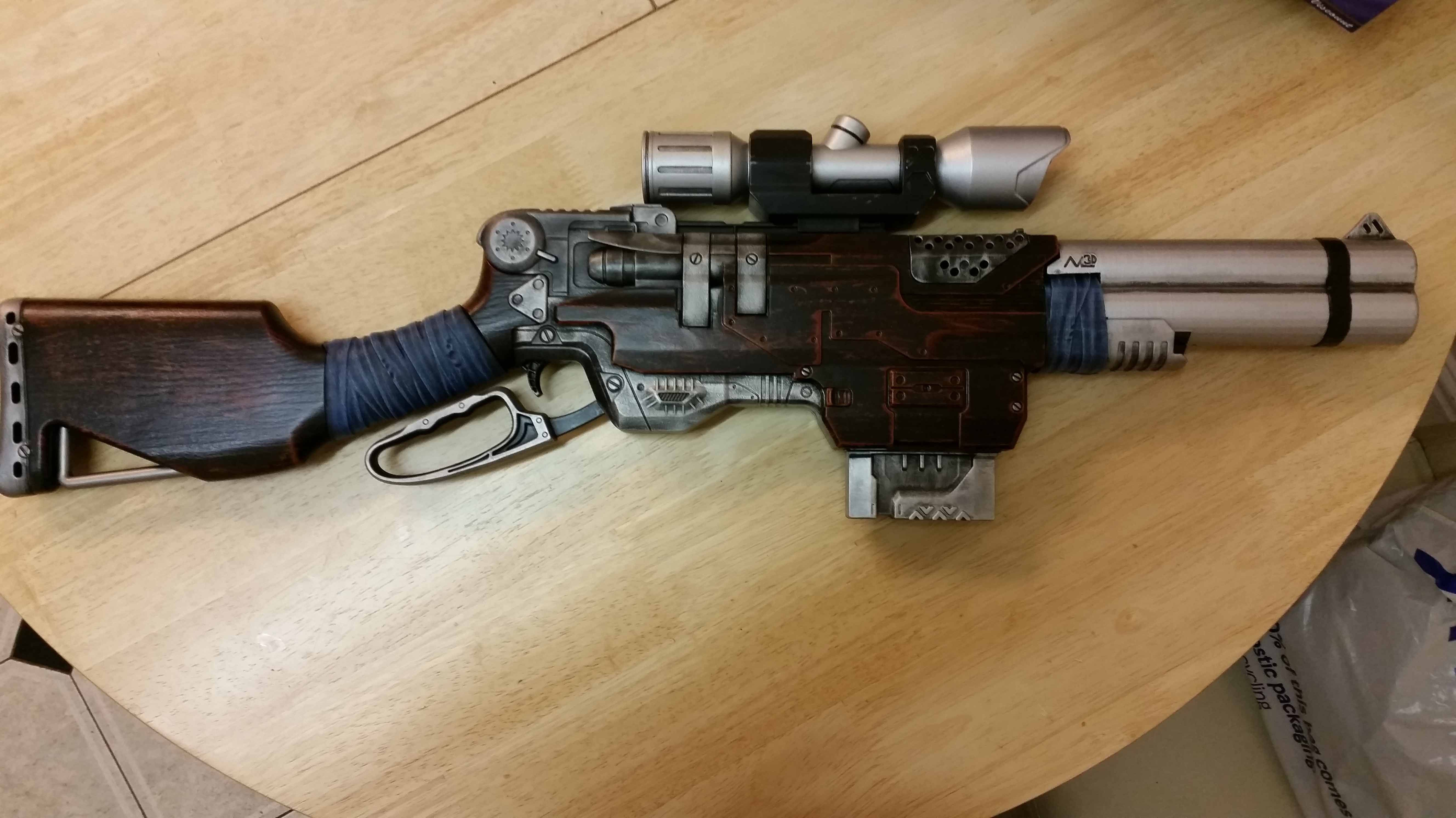 Steampunk Rapidfire Rifle by DrDisco777 | buzz bee and nerf airsoft ...