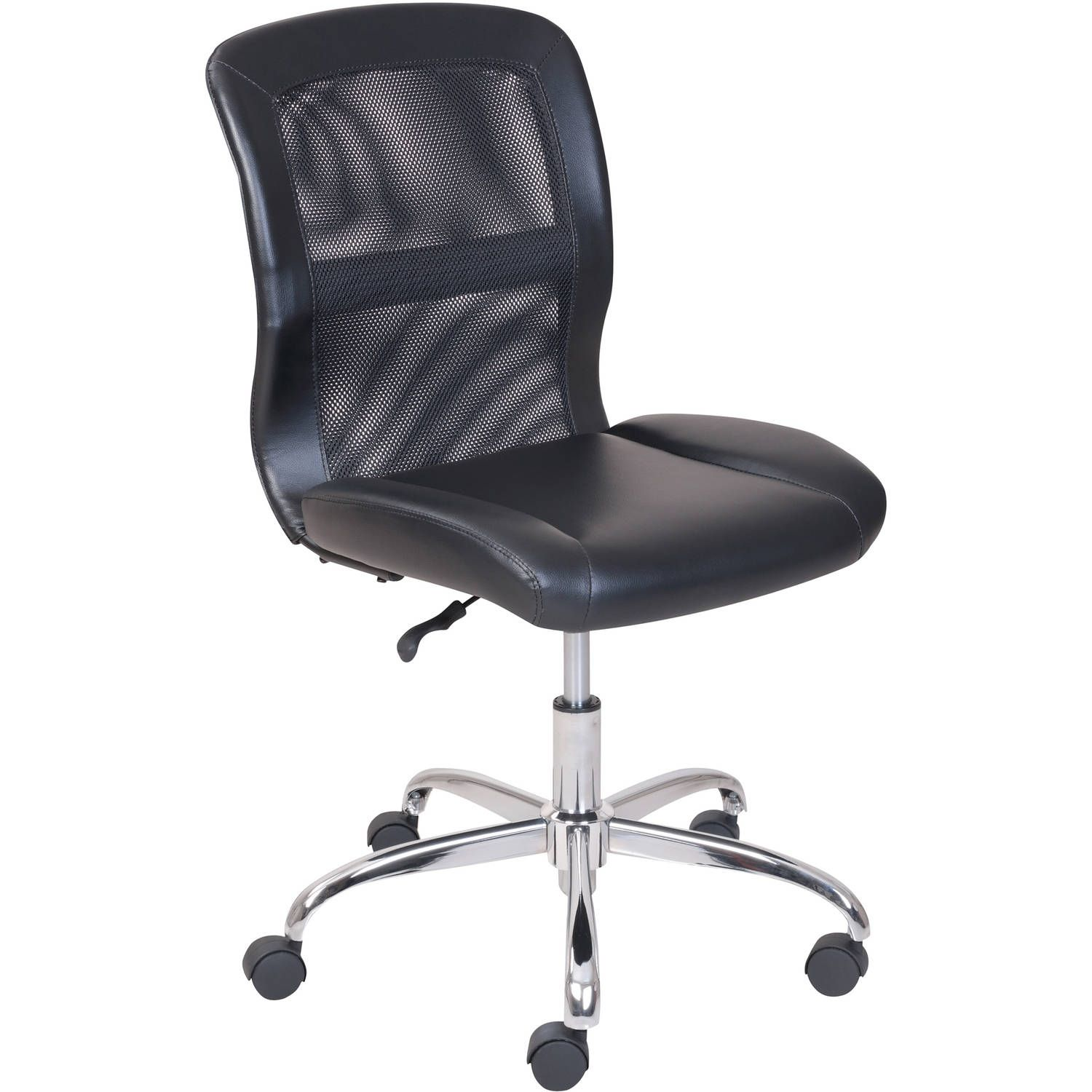 Mainstays Contemporary Office Chair Durable And Comfortable Arctic White